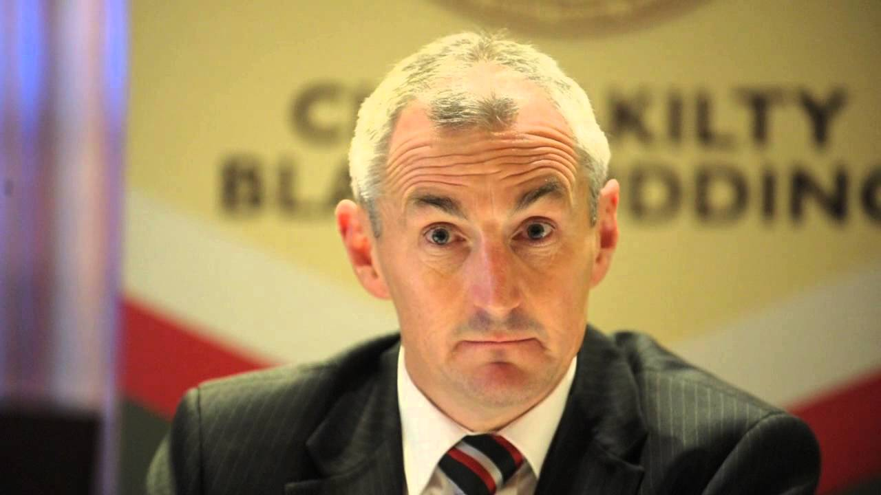 Cork City FC Manager John Caulfield at a press conference