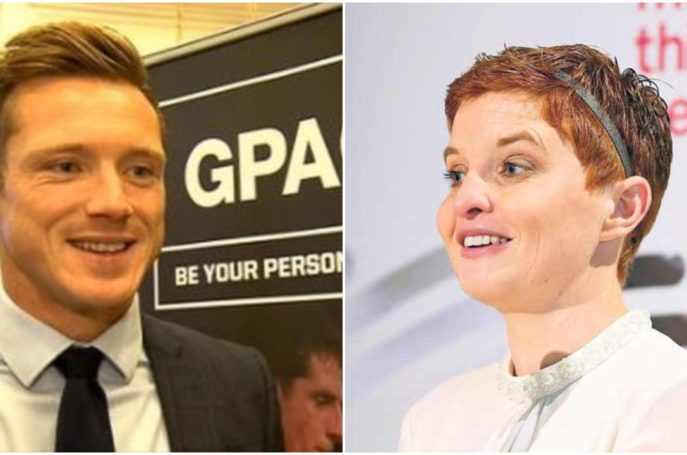 GPA CEO Paul Flynn and WGPA Chairperson spoke at the GPA Dinner in New Yorks Capitale building recently