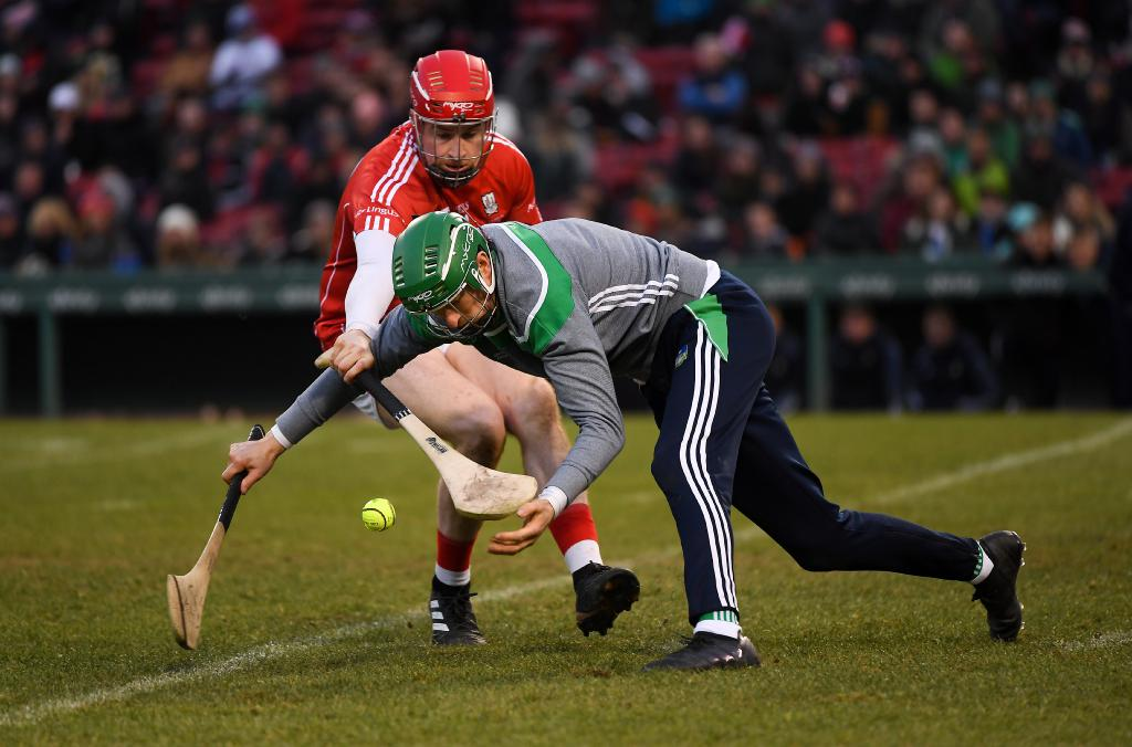 Nickie Quaid of Limerick in action against Conor Lehane. Picture Piaras Ó MídheachSportsfile