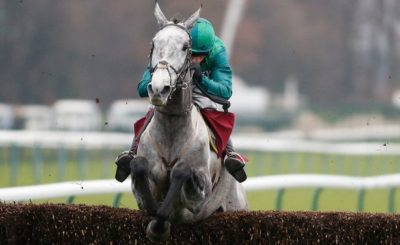 Haydock specialist Bristol De Mai (13/2) was the surprise winner of the Betfair Chase Saturday