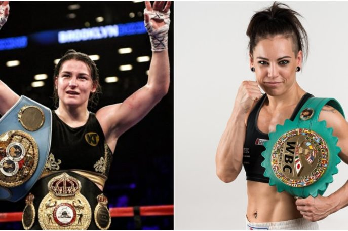 Irelands Katie Taylor will defend her IBF and WBA World Lightweight titles against former amateur rival and current WBC World super-featherweight champion, Eva Wahlstrom at Madison Square Garden on December 15th – the bout featuring on the Canelo Alvarez. VS. Rocky Fielding undercard.