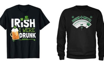 Irish stereotype merchandise on Amazon