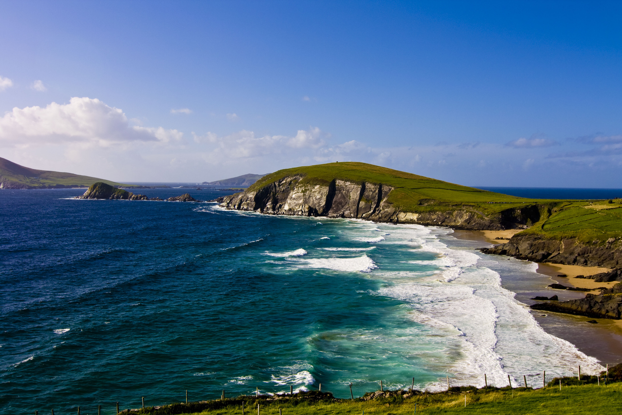 Dunmore Head in Dingle Peninsula (County Kerry,Ireland) Getty Images