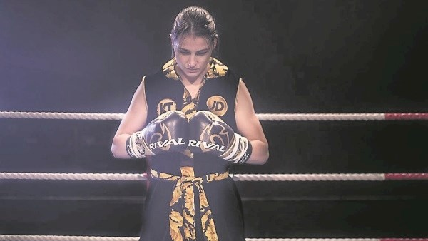 Katie Taylor bids to take another major step in becoming the undisputed lightweight champion of the world when she faces WBO champion Rose Volante in Philadelphia on Friday night.
