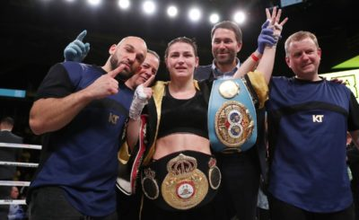 Katie Taylor will face Delfine Persoon for the undisputed Lightweight championship of the World on Saturday June 1 at Madison Square Garden in New York