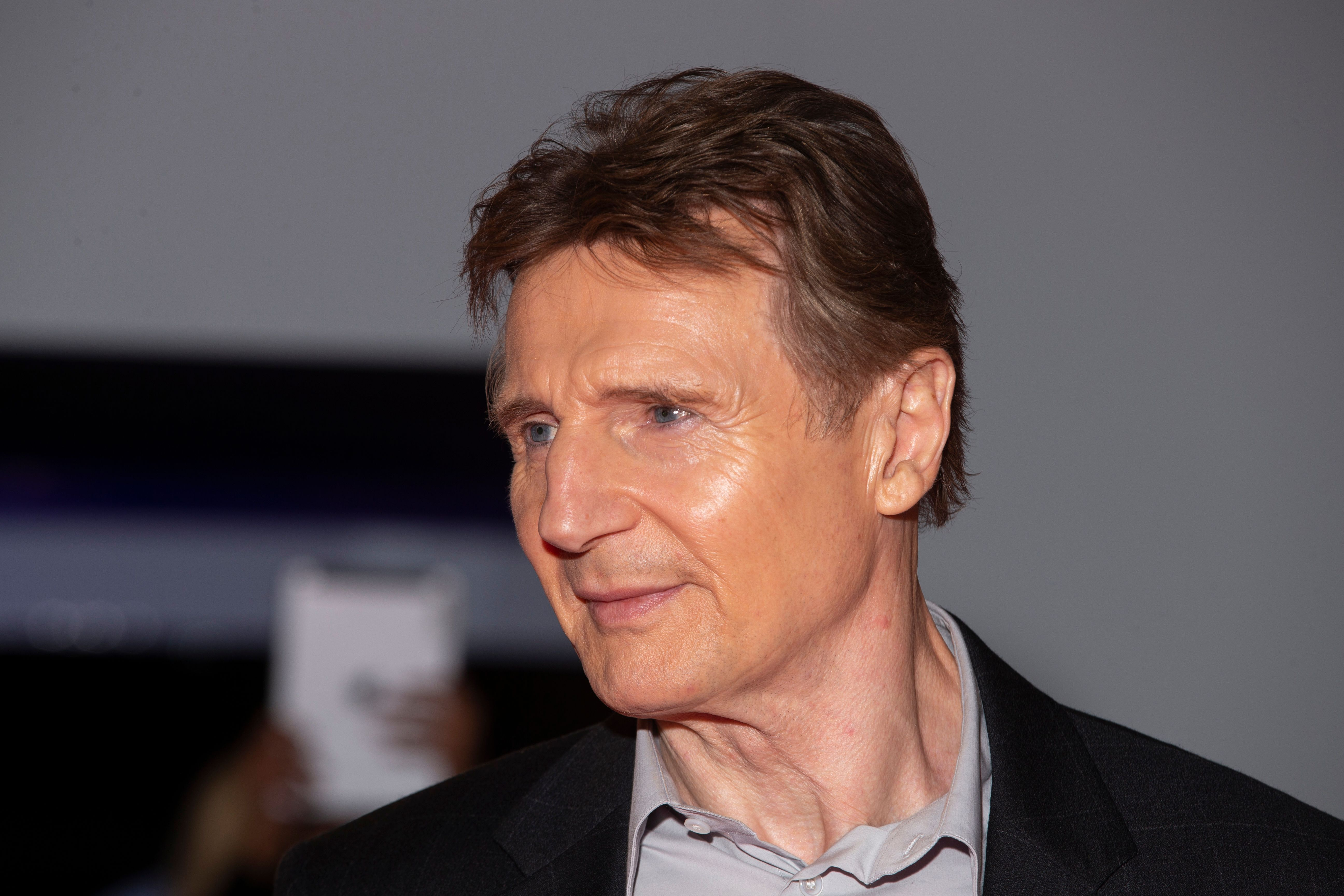 Irish actor Liam Neeson arrives at the premiere of 'Widows' at the Toronto International Film Festival in Toronto, Ontario, September 8, 2018. Getty Images