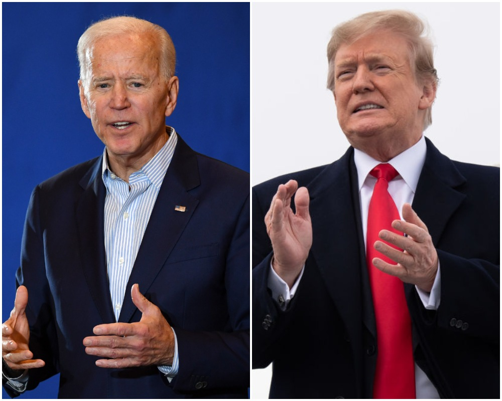 joe biden and donald trumo