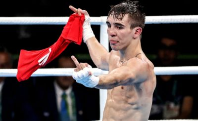 Michael Conlan Olympics 2016 finger